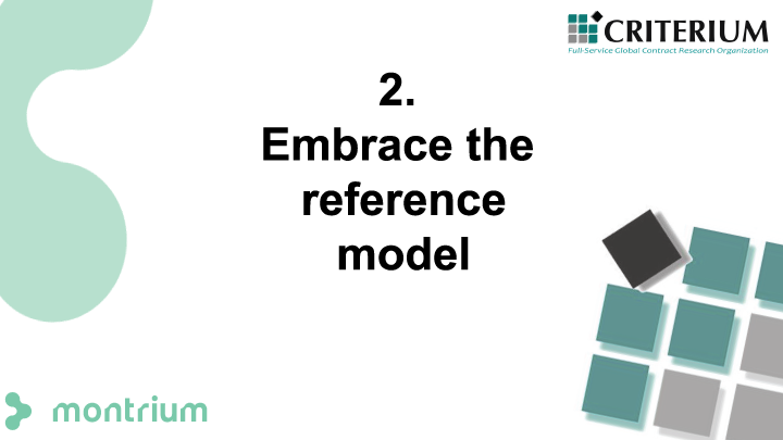 Embrace the reference model